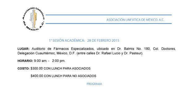 1er Sesión Académica